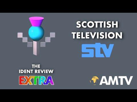 STV (Scottish Television) - The ITV Network   The Ident Review Extra