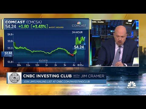 Jim Cramer's first take on Comcast stock after earnings